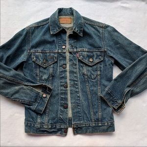 Vintage Levi Trucker Pocket Denim